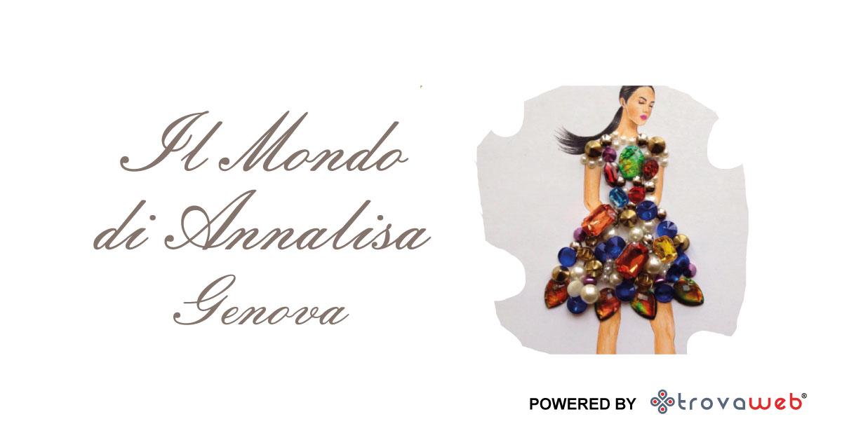 00763c7cac Bijoux Artigianali Il Mondo di Annalisa - Genova