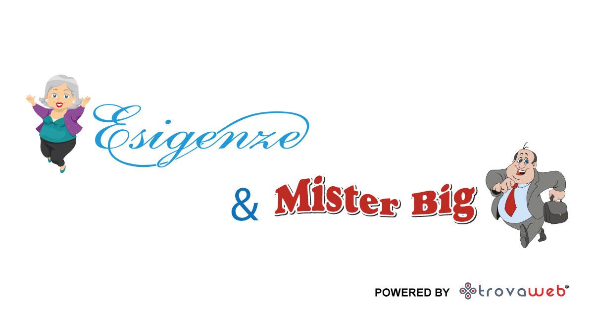 Specialista in Taglie Forti Esigenze & Mister Big - Palermo