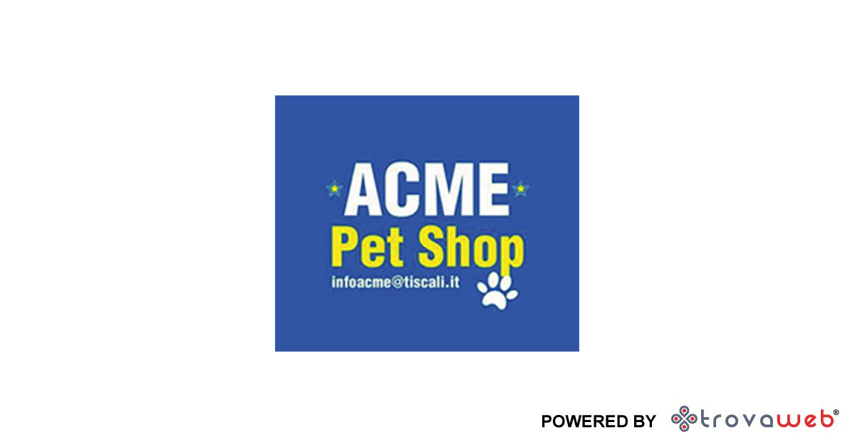 ACME Pet Shop - Villafranca Tirrena