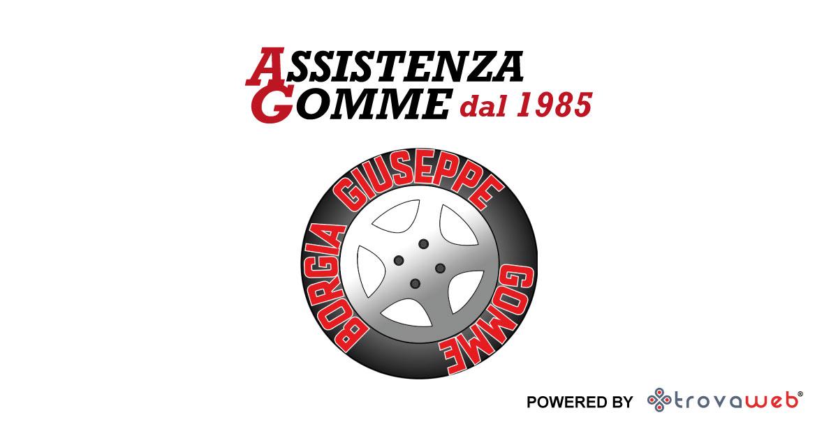 Assistenza Gomme Borgia Gommista - Messina