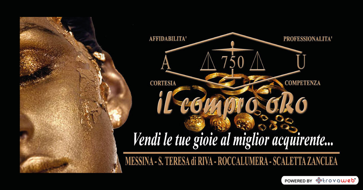 AU 750 el Compro Oro en Messina