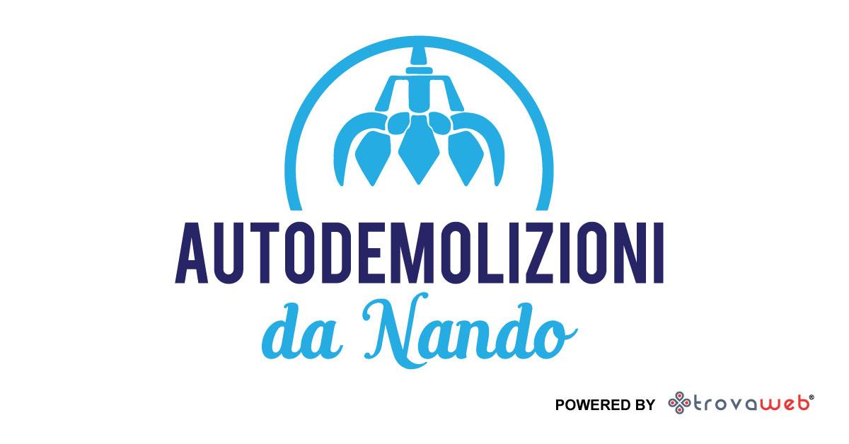 Démolitions de voitures à Turin