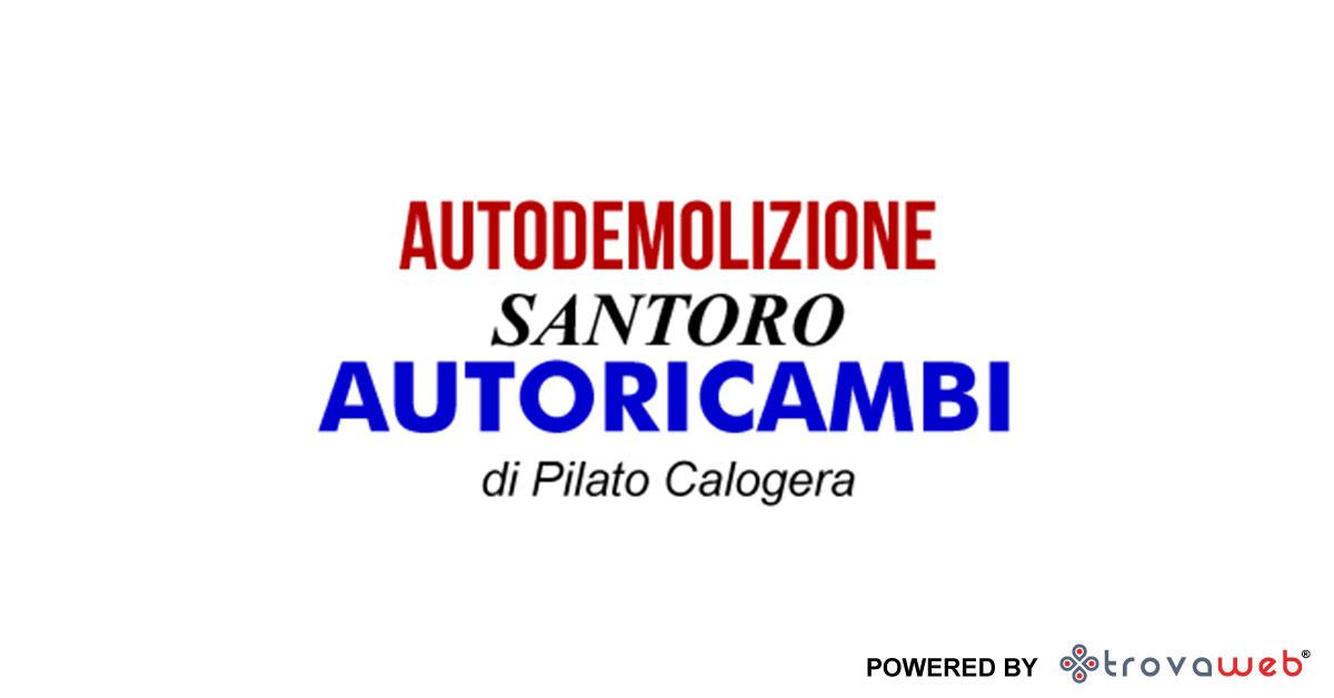 Autodemolizioni Santoro Teile - San Cataldo