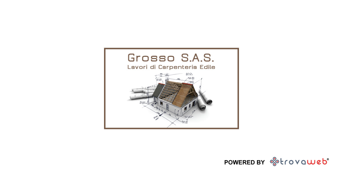 Zimmerei in Holz Grosso SAS - Messina