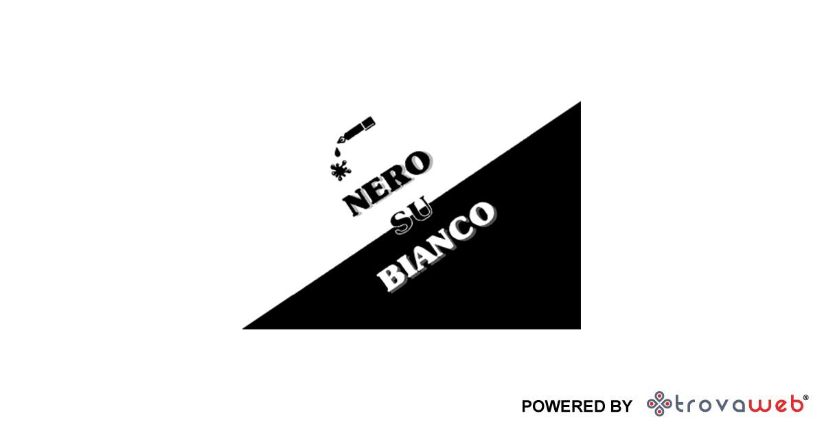 Cartoleria convenzionata Lyoness Nero su Bianco - Manta