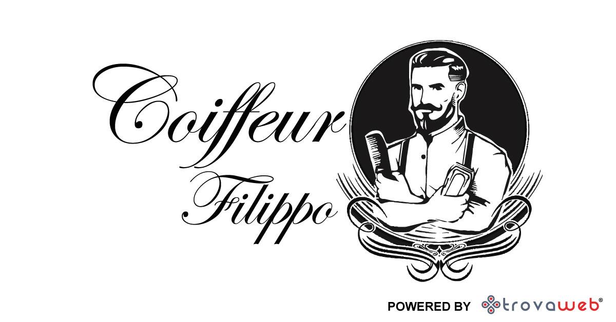 カッカモの男性のための美容師フィリッポ美容院