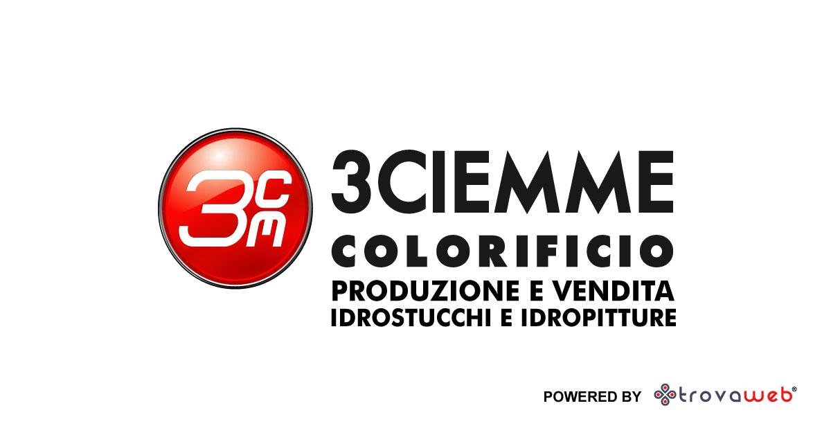 3Ciemme Idrostucchi Farben und Farben auf Wasserbasis - Genua