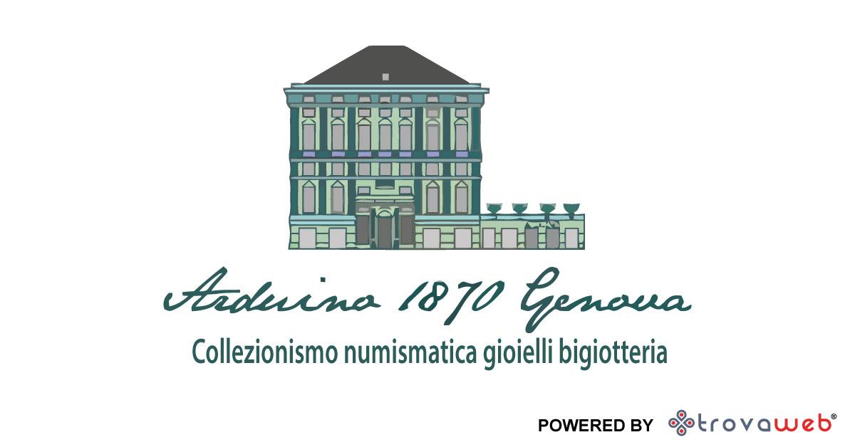 Gioielli d'Epoca Bigiotteria Vintage Arduino 1870 - Genova