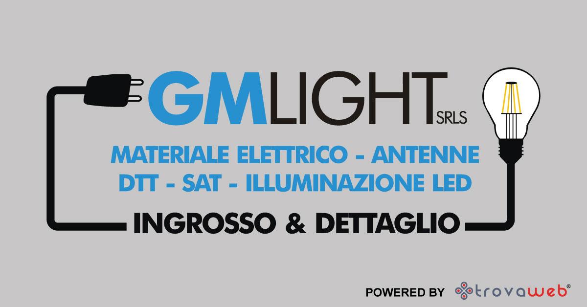 Materiale Elettrico all'Ingrosso e al Dettaglio GM Light