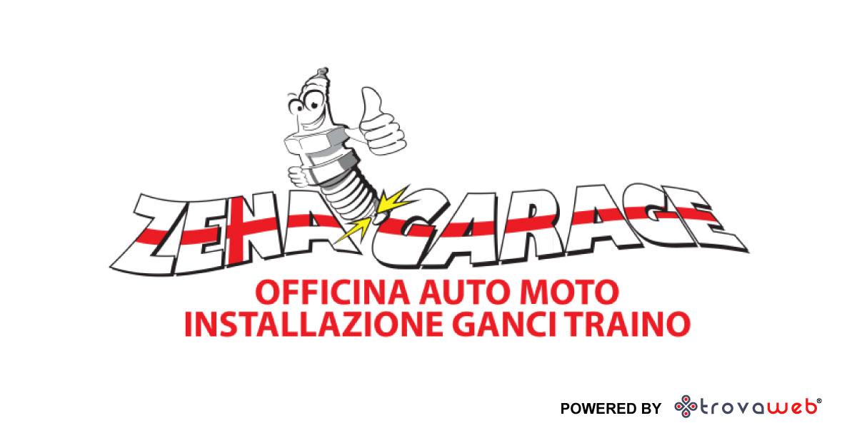 Installazione Ganci Traino - Zena garage Genova