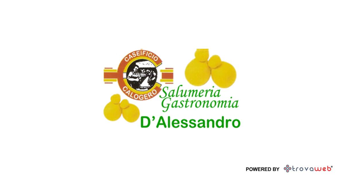 Salumeria促使Gastronomia德亚历山德罗墨西拿