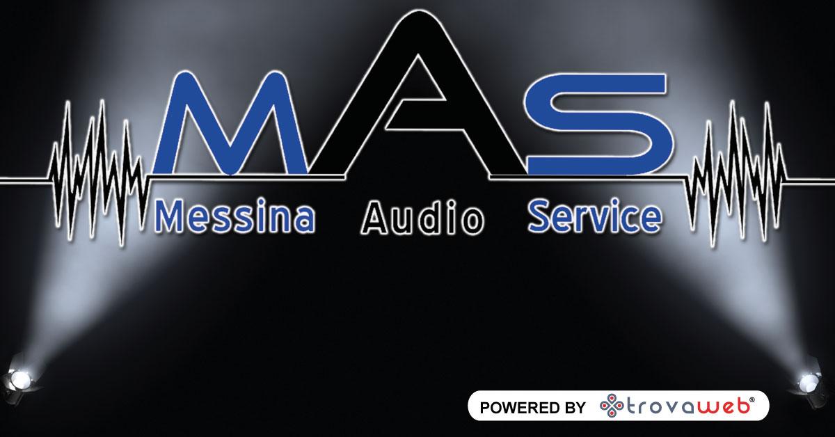 Noleggio Luci Audio e Video Messina Audio Service