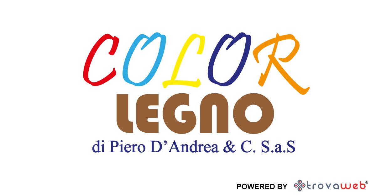 Pannelli Laminati e Vernici Color Legno Capo D'Orlando