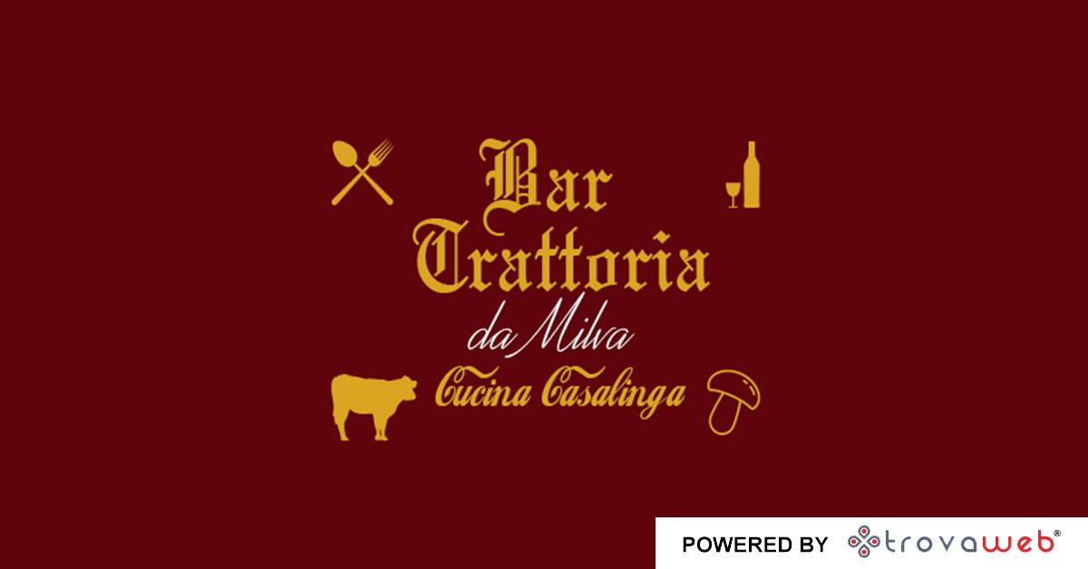 Trattoria Da Milva Typique Cuisine - Pagno - Cuneo
