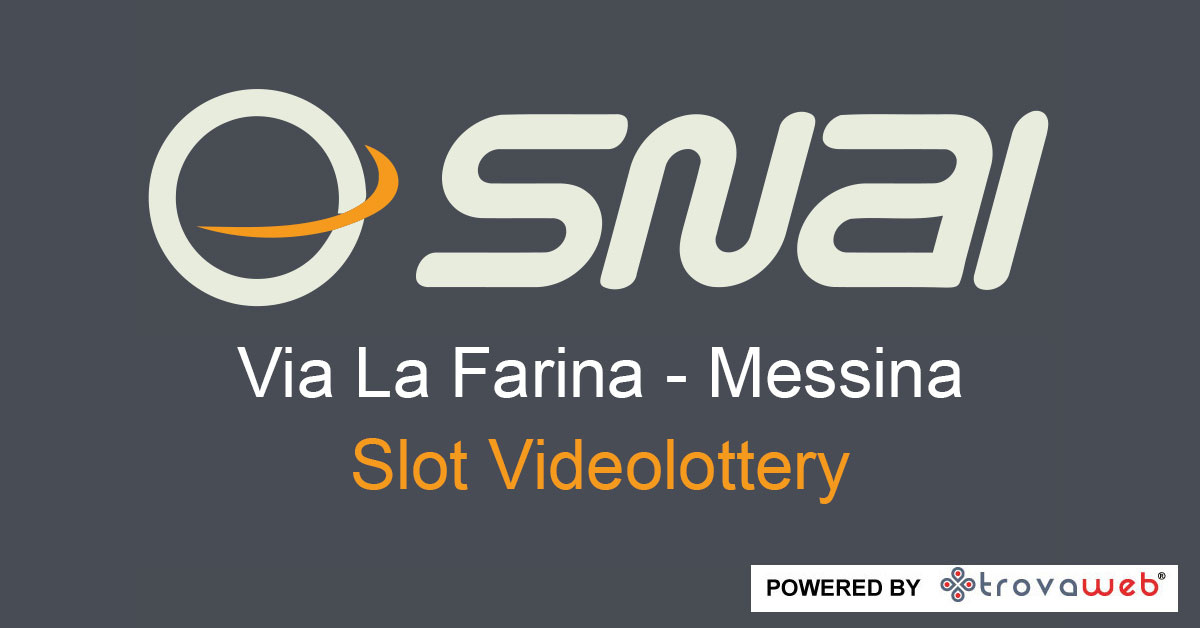 Apuestas SNAI Via La Farina - Messina