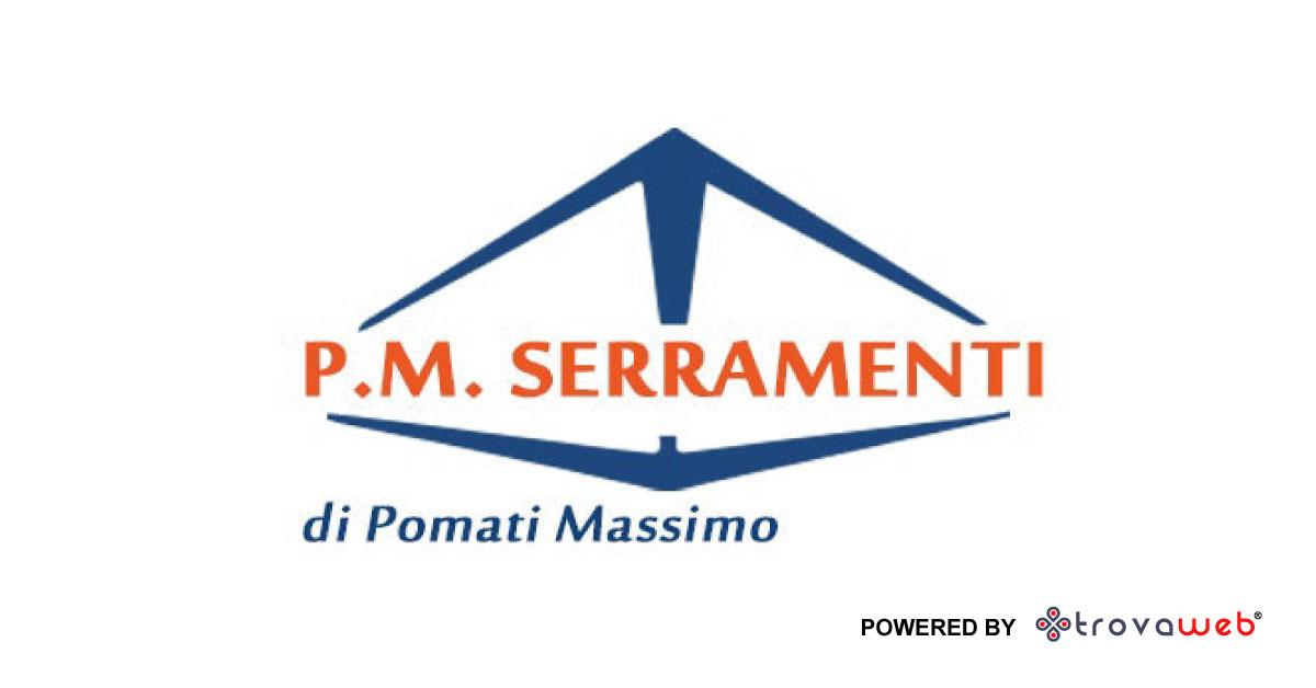 Portes et fenêtres en aluminium et PVC PM - Gênes
