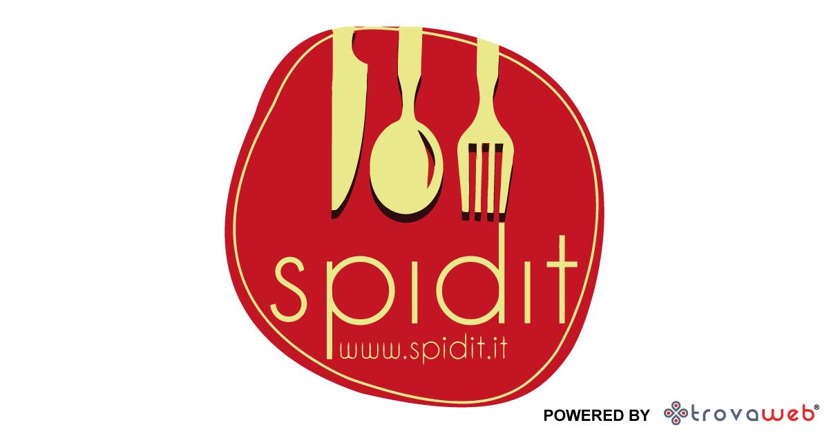 Spidit.it Soluzione Sito Web + APP per il Food da Asporto