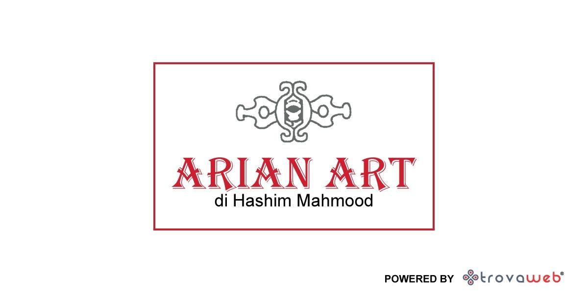 Alfombras orientales y persas del arte arian - palermo