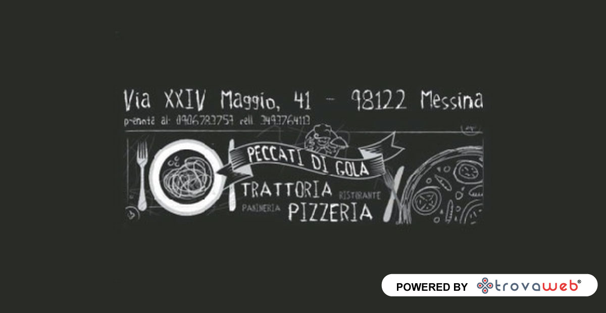 Trattoria - Pecados Pizzeria Gola - Messina