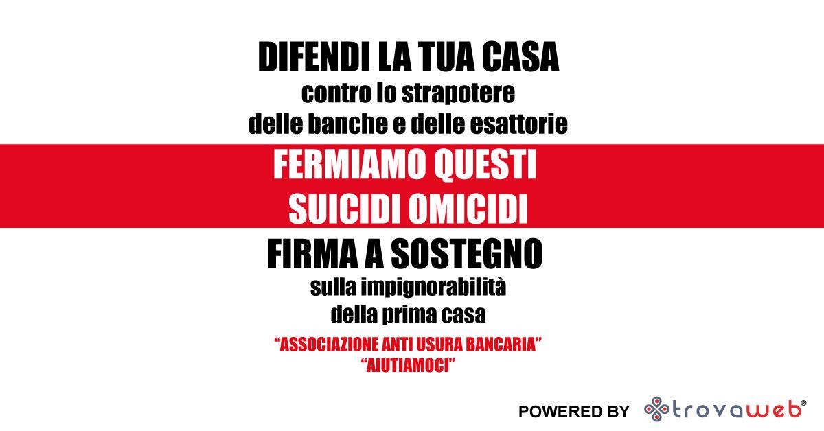 Usura Bancaria Associazione Aiutiamoci - Palermo